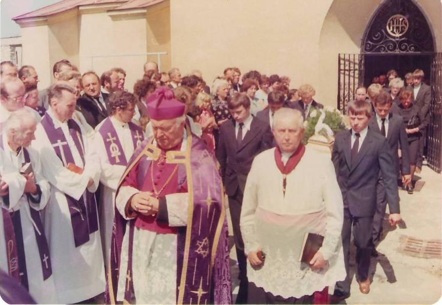 Pohřeb P. Stehlíka