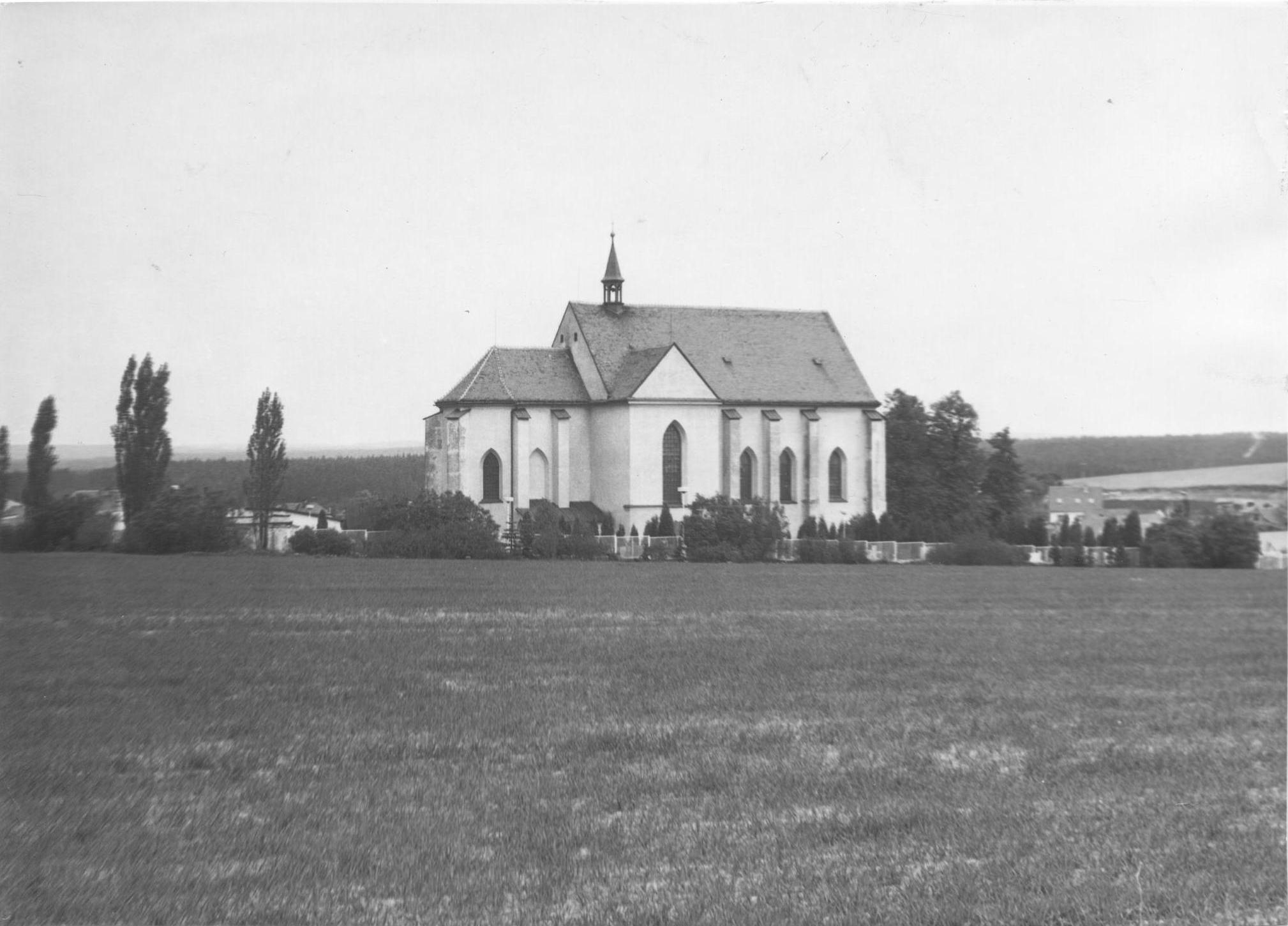 Kostel 80. léta