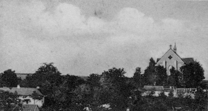 Kostel Lipovec 1927