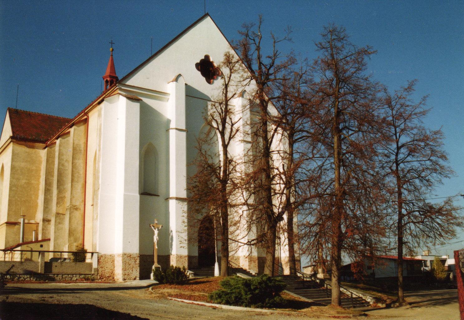 Kostel v roce 1997