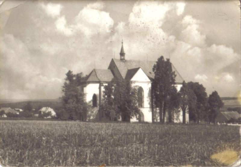 Kostel v roce 1961
