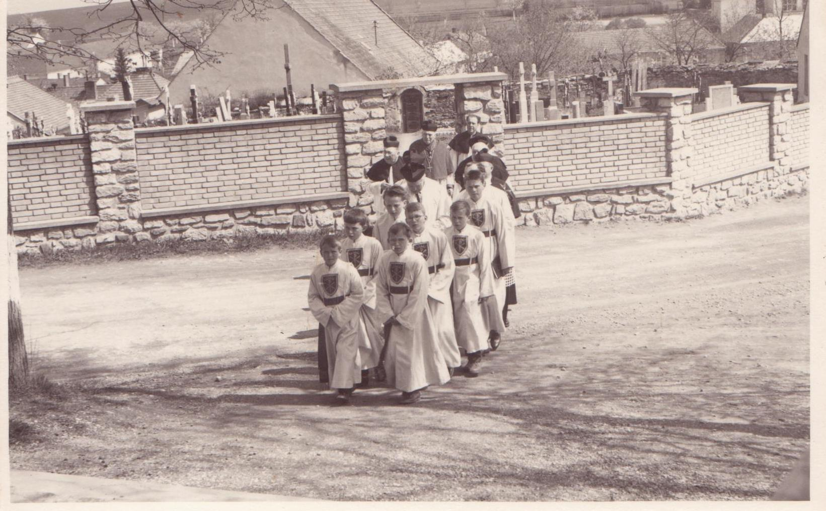Starý hřbitov 1964
