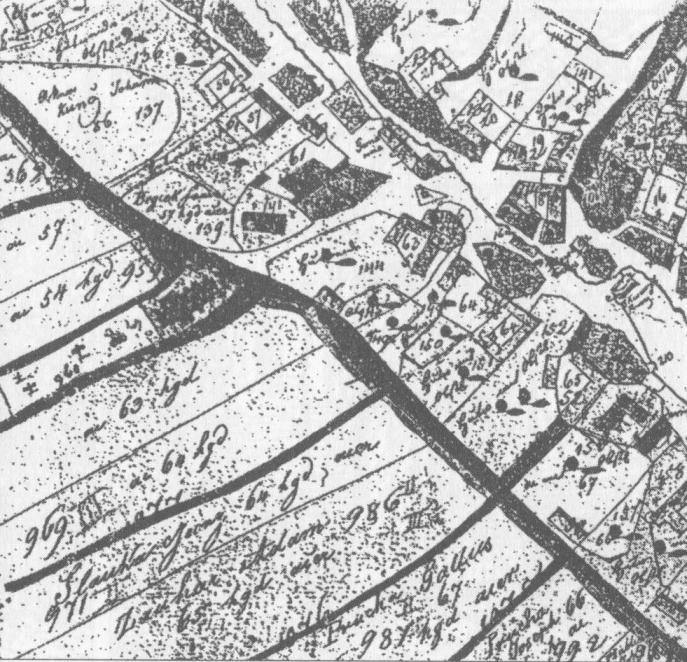 Katastrální mapa 1826