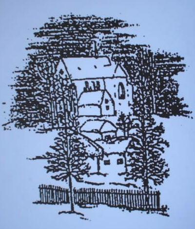 Kostel - kresba 3